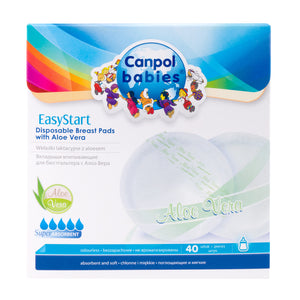 EasyStart Aloe Breast Pads 40 pc