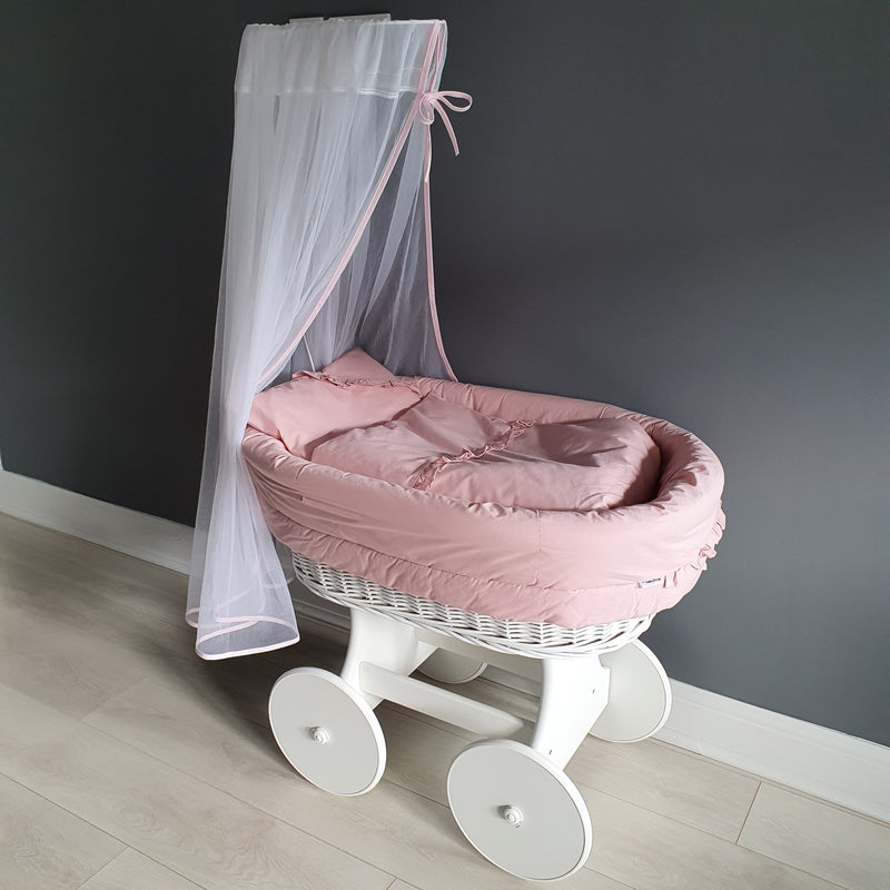 Moses Basket with Stand and Mattress