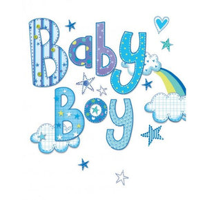 Gift Tag - Baby Boy - Little Baby Shop -