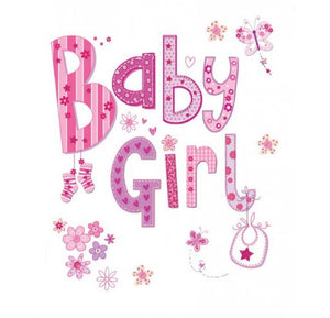 Gift Tag - Baby Girl - Little Baby Shop -