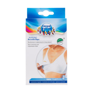 Nursing Bra with Flaps 100% Cotton