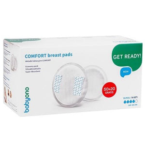 COMFORT Breast Pads 50+20 PCS. FREE - Little Baby Shop -