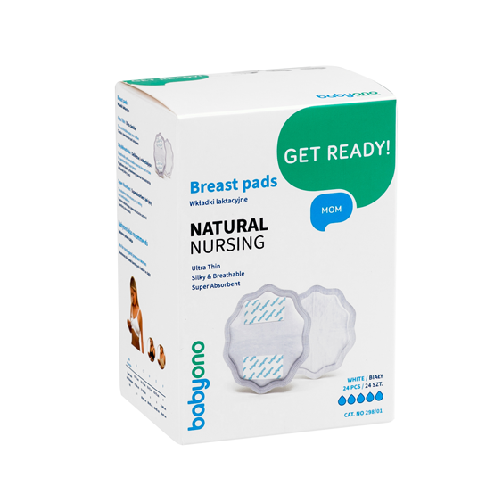 NATURAL NURSING breast pads - white, Little Baby Shop Ltd.