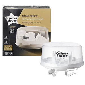 Tommee Tippee Microwave Steriliser - Little Baby Shop -