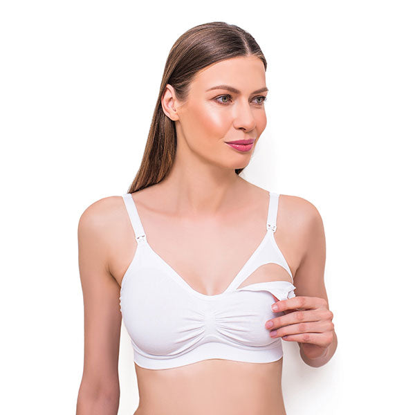 Bra for nursing and pregnant women - white, Little Baby Shop Ltd.