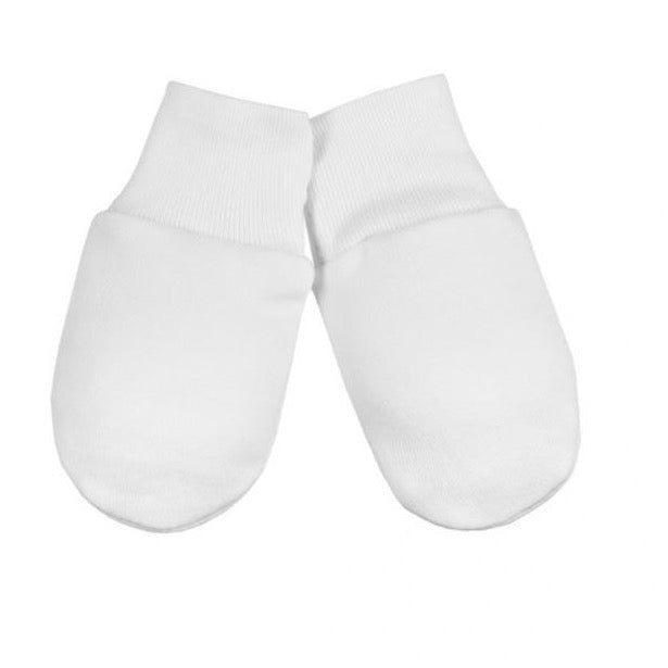 Baby Mittens - white, Little Baby Shop Ltd.