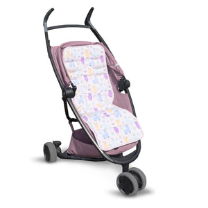 Double-Sided Stroller Liner - LOLLY POLLY LLAMA, Little Baby Shop Ltd.