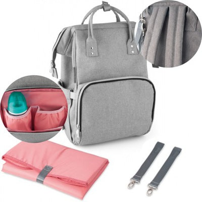 Changing backpack - grey - Little Baby Shop -