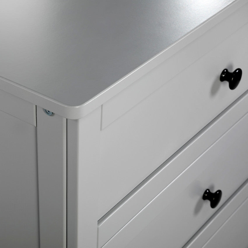 EVA chest of drawers with changing tray - grey, Little Baby Shop Ltd.