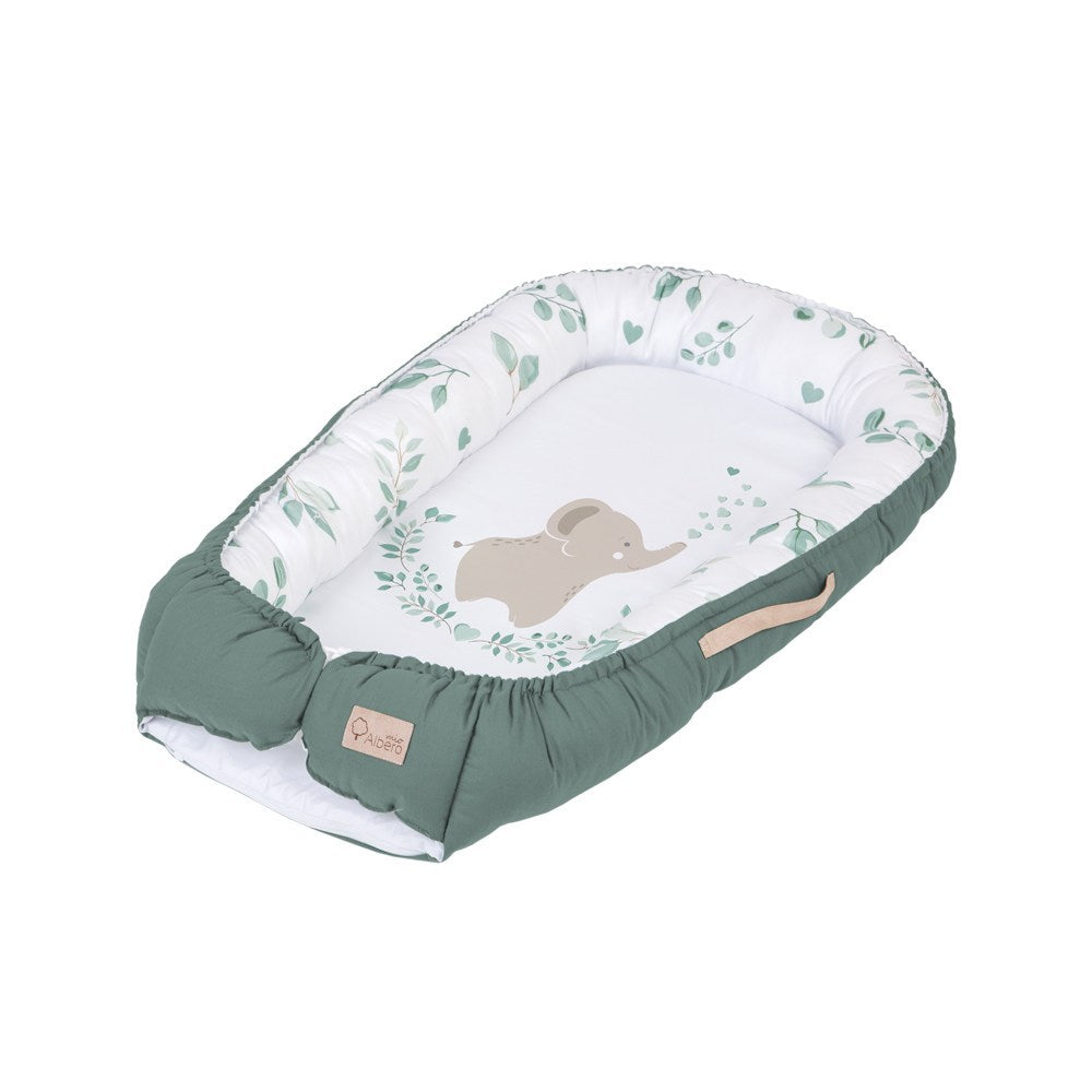 Baby Nest/Sleeping Pod (Love & Nature collection) - savanna, Little Baby Shop Ltd.