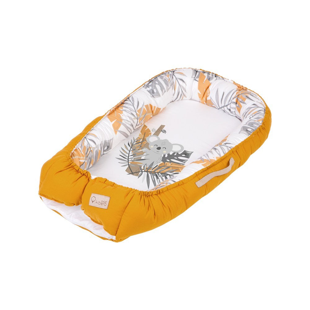 Baby Nest/Sleeping Pod (Love & Nature collection) - tropics - Little Baby Shop -