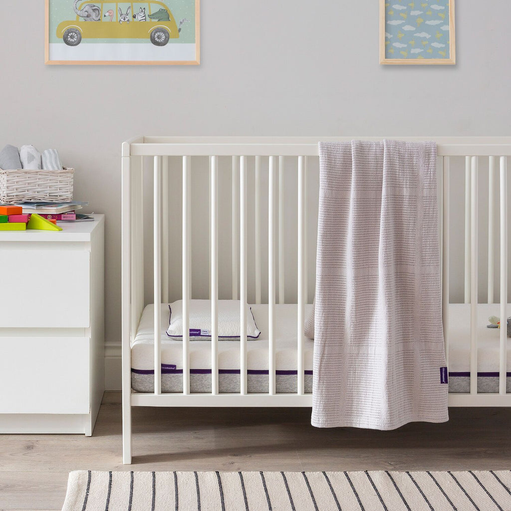 ClevaMama Cellular Blanket Cot/ Cot-Bed - grey, Little Baby Shop Ltd.