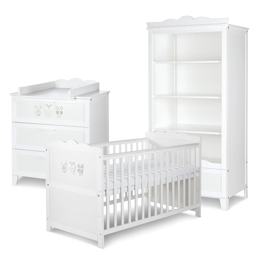 MILO Cot-Bed Furniture Set (with Shelving Unit)