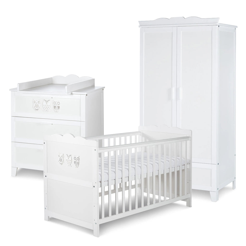 MILO Cot-Bed Furniture Set (with Wardrobe)