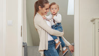 Tulia Safety Baby Gate - grey, Little Baby Shop Ltd.