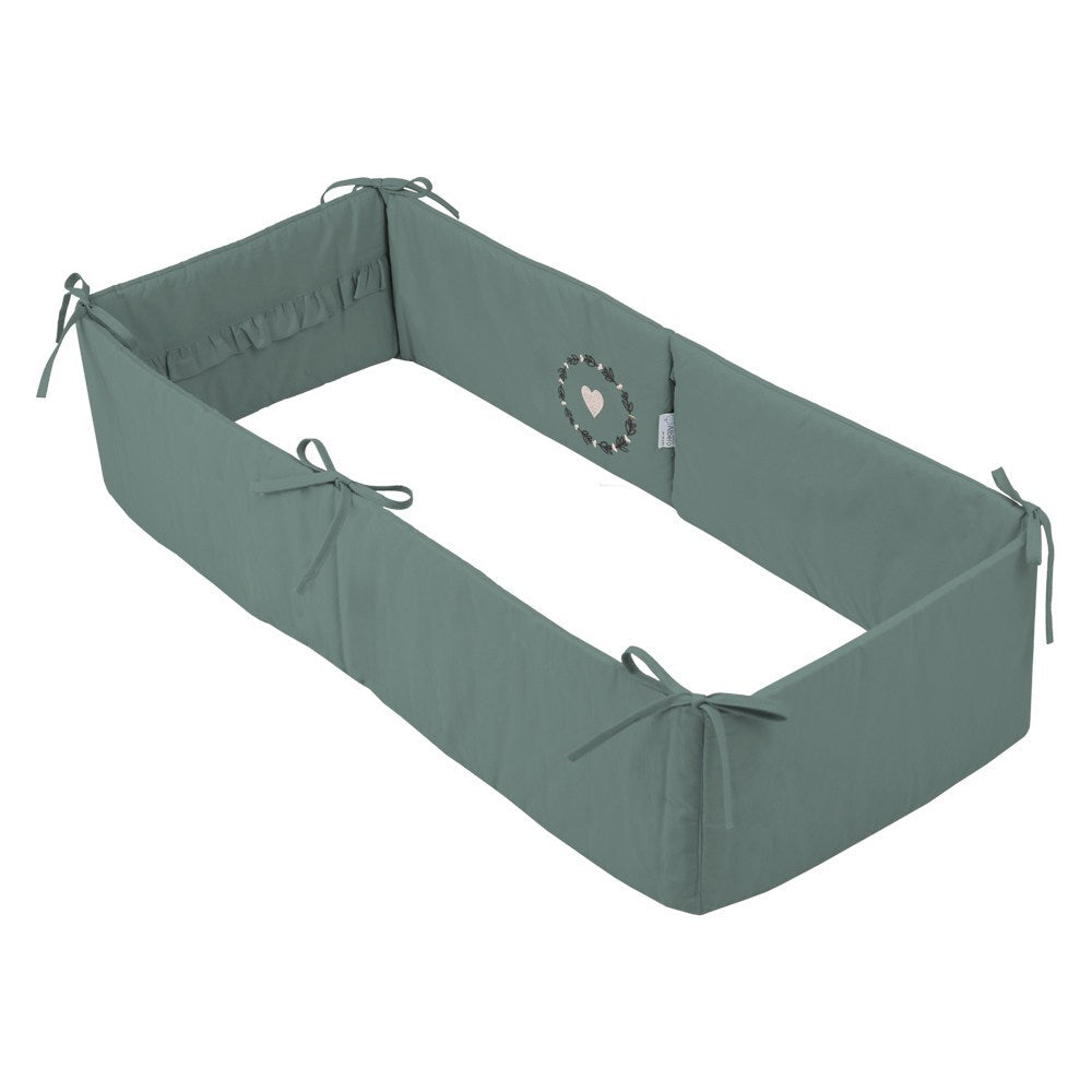 Mini Cradle Bumper - savanna (Love & Nature collection), Little Baby Shop Ltd.