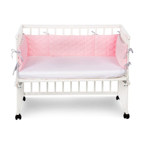 Piccolo Jersey Cotton Fitted Sheets Crib/Cradle - white, Little Baby Shop Ltd.
