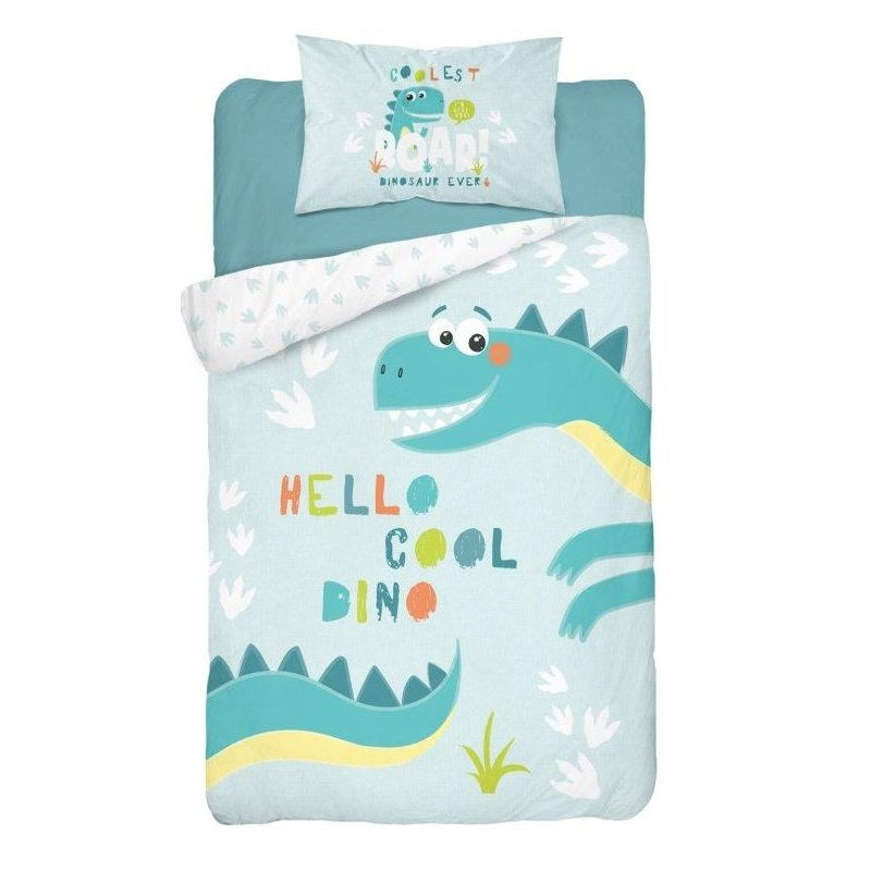 Double-sided Bamboo Bed Linen - dino