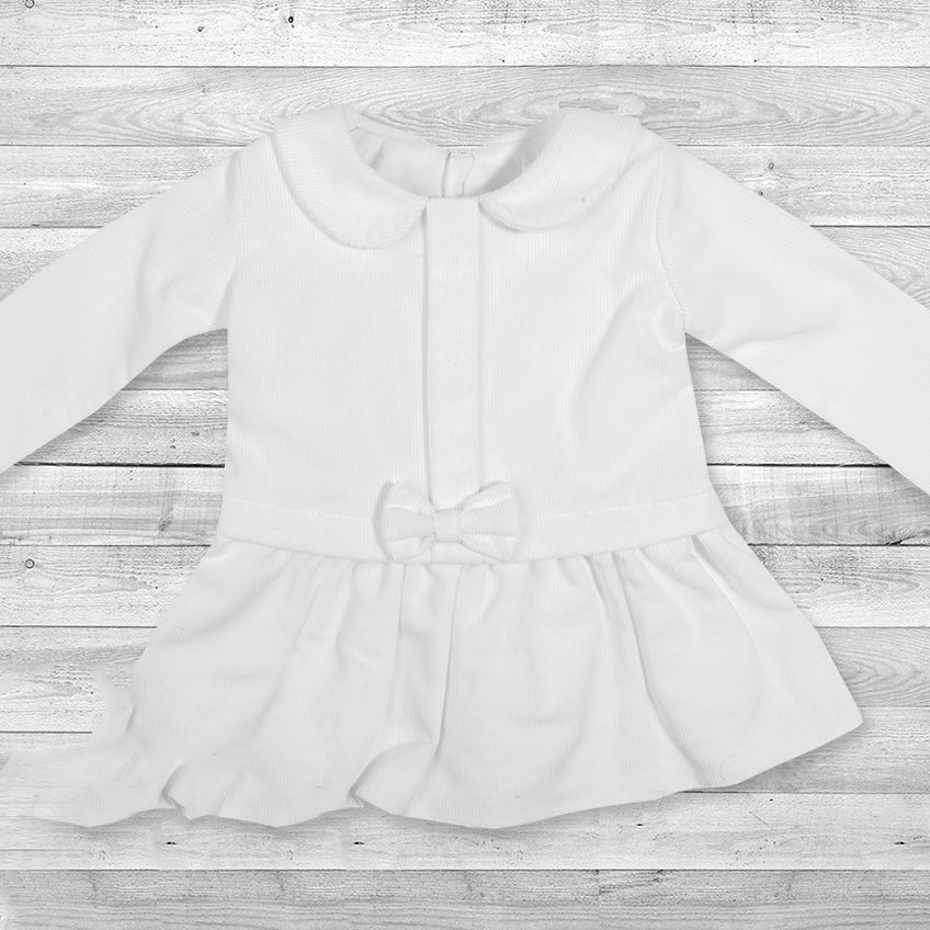 White Corduroy Dress, Little Baby Shop Ltd.