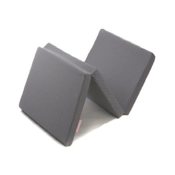 Travel Cot Mattress - grey
