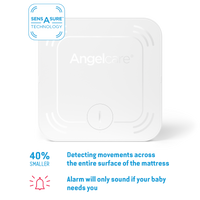 Angelcare AC127 Baby Movement Monitor with Sound, Little Baby Shop Ltd.