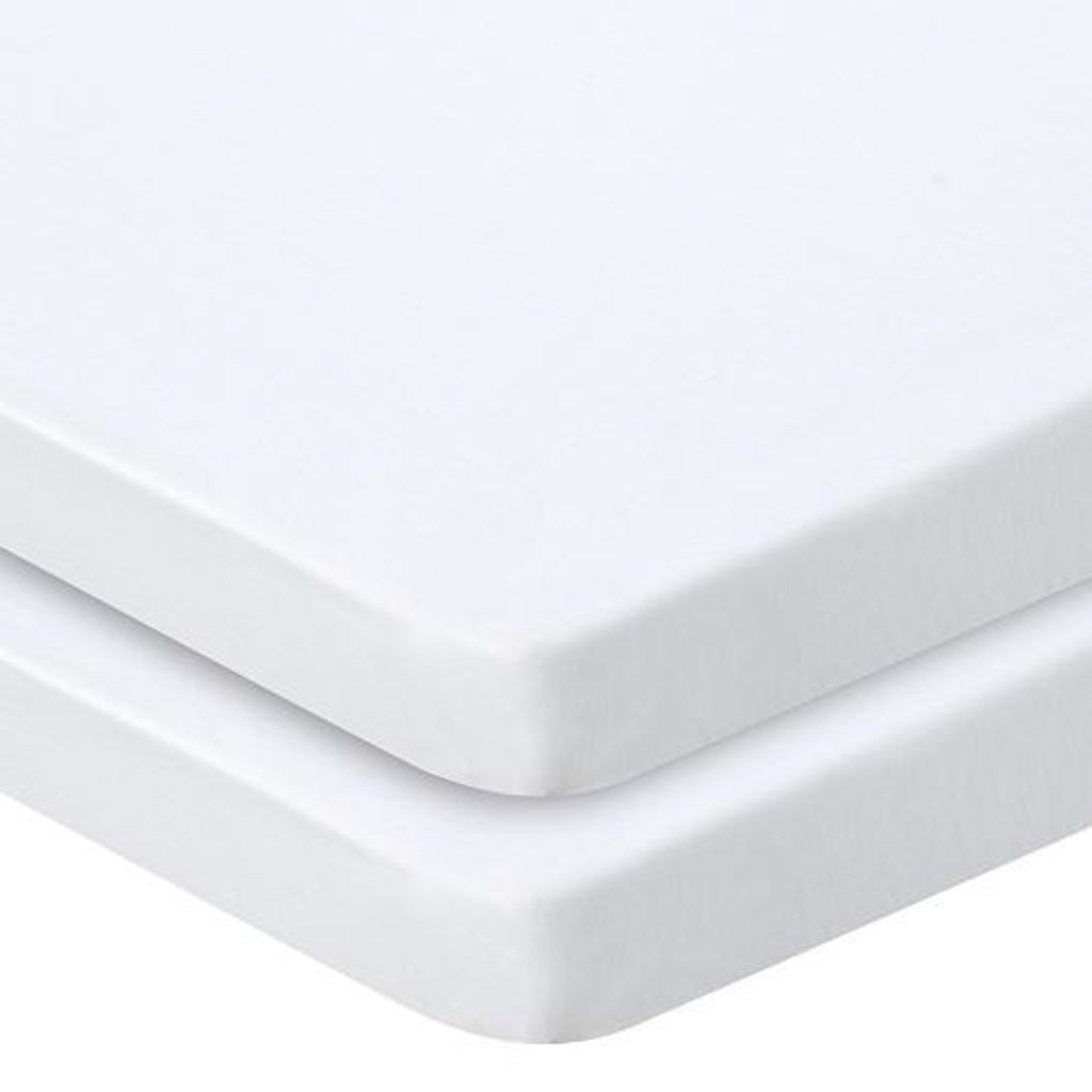 Fitted terry cradle sheet - white - Little Baby Shop -