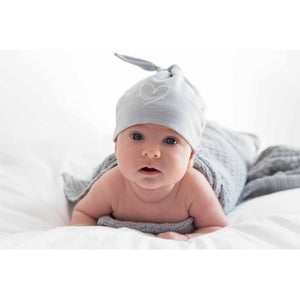 Effiki Cotton Baby Blanket - grey - Little Baby Shop -