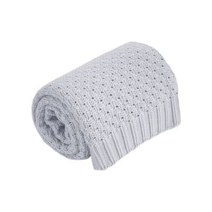 Effiki Cotton Baby Blanket - grey, Little Baby Shop Ltd.