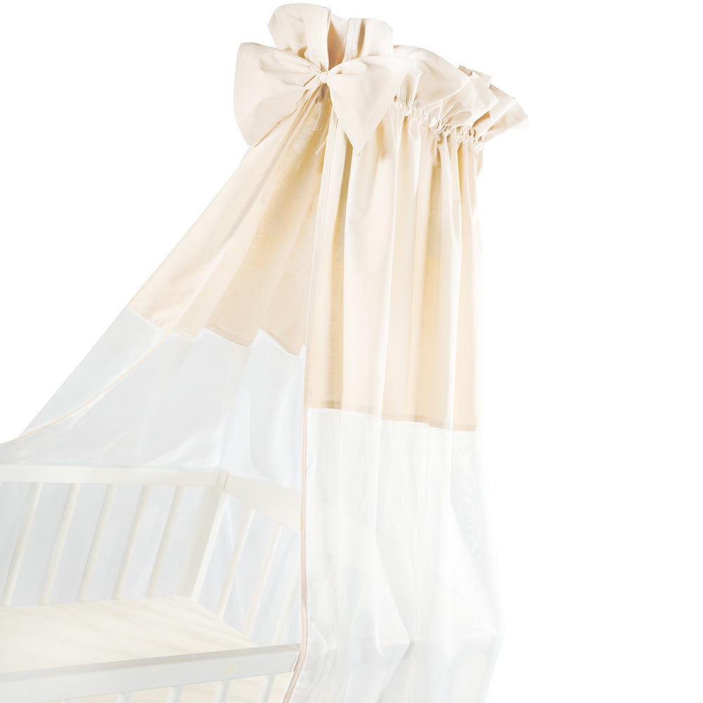 Canopy for Cot - beige - Little Baby Shop -