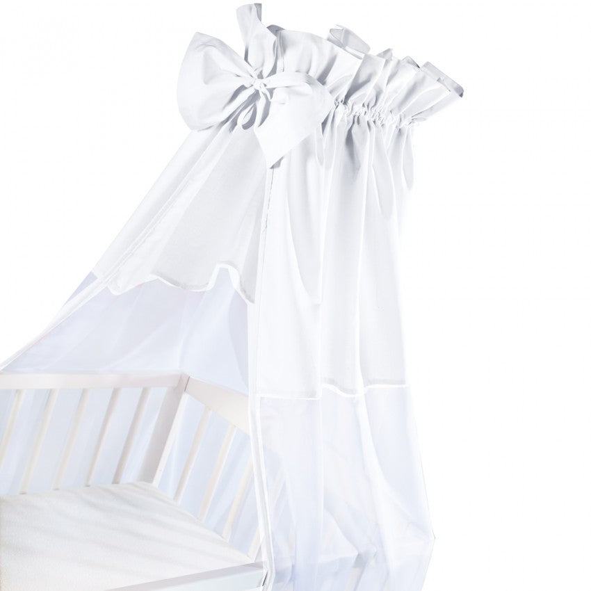 Canopy for Cot - white - Little Baby Shop -