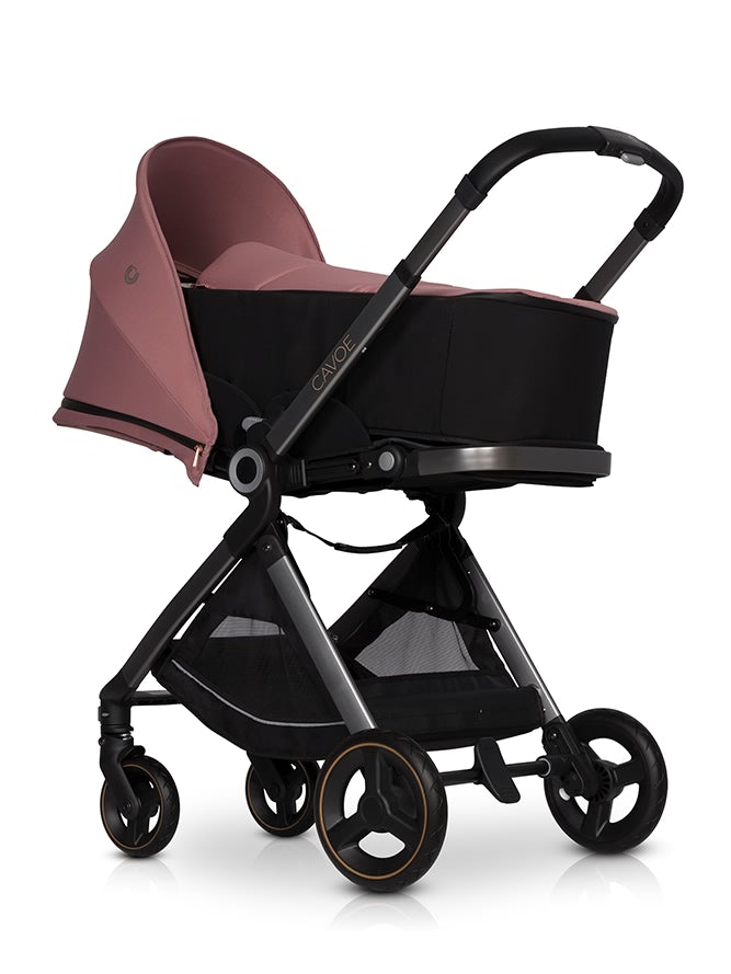 Osis by Cavoe Soft Carrycot - desert rose, Little Baby Shop Ltd.