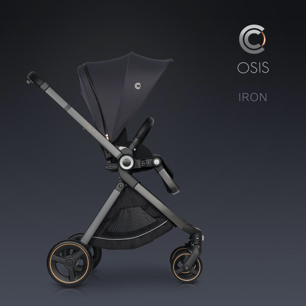 Osis by Cavoe Stroller - iron, Little Baby Shop Ltd.