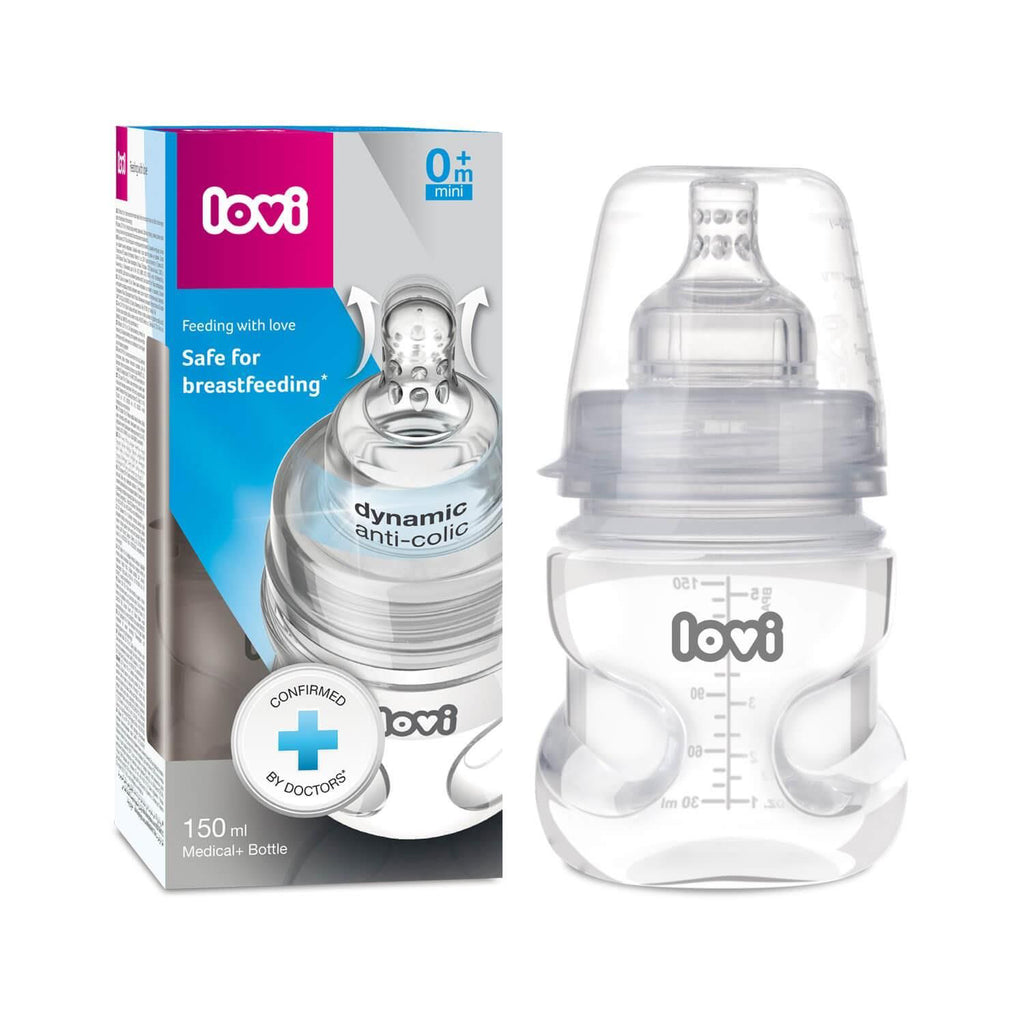LOVI Medical+ Bottle 150 ml - Little Baby Shop -