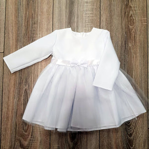 Dress with Bow & Glittery Tulle, Little Baby Shop Ltd.
