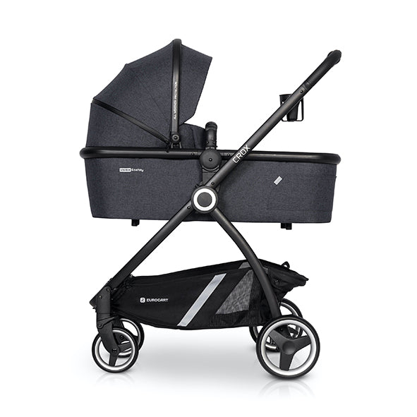Crox Hard Base Carrycot - coal - Little Baby Shop -