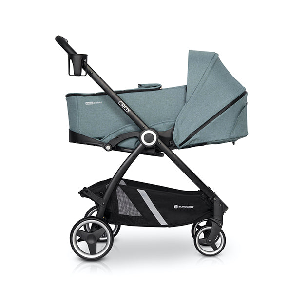 Crox Soft Base Carrycot - mineral, Little Baby Shop Ltd.