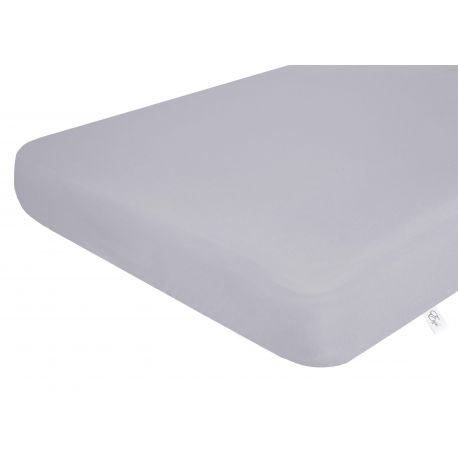 Fitted sheet for cot Effiki - grey - Little Baby Shop -