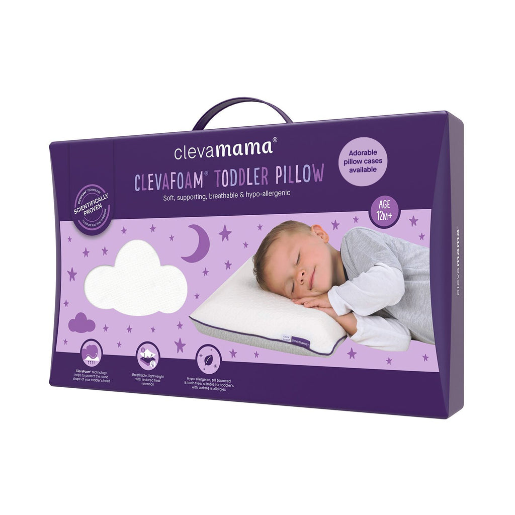 ClevaMama ClevaFoam Toddler Pillow - Little Baby Shop -