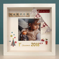 Baby Girl Frame - 1st Christmas, Little Baby Shop Ltd.