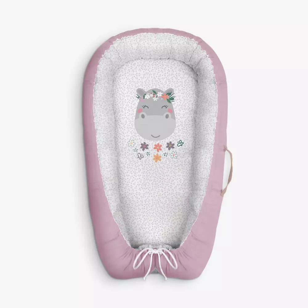 Baby Nest/Sleeping Pod (Animals & Nature collection) - hippo
