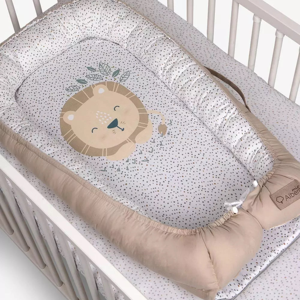 Baby Nest/Sleeping Pod (Animals & Nature collection) - lion