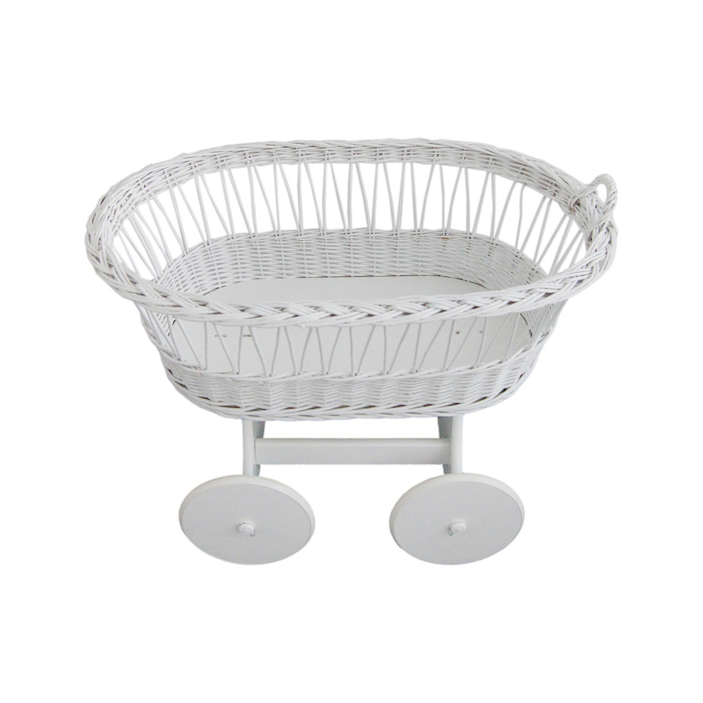 Moses Basket with Stand and Mattress, Little Baby Shop Ltd.