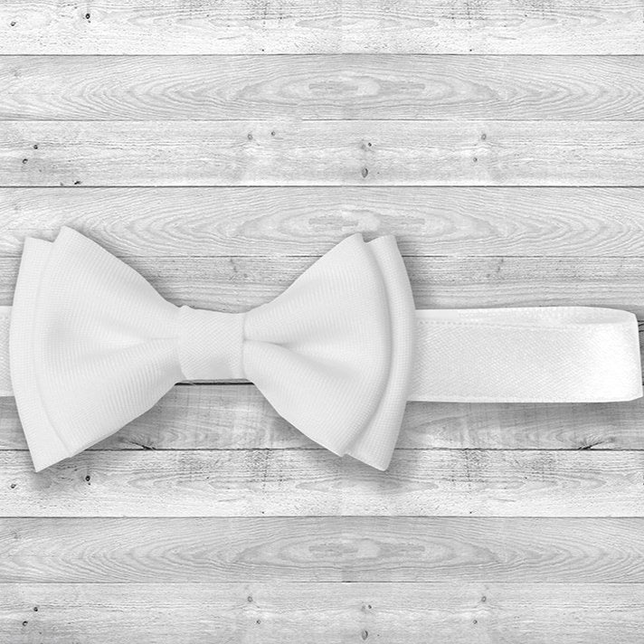 Bow tie - white - Little Baby Shop -