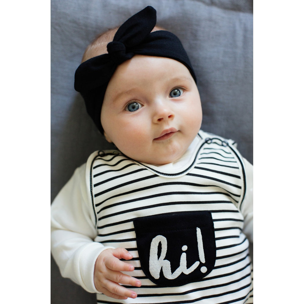 Happy Day Headband - black - Little Baby Shop -