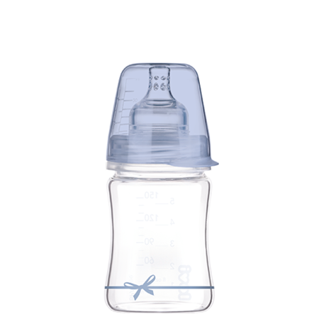 LOVI Diamond Glass Bottle - Boy Baby Shower 150 ml - Little Baby Shop -