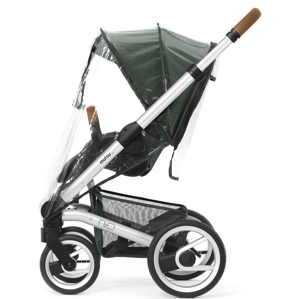 Mutsy NIO Stroller seat rain cover - Little Baby Shop -