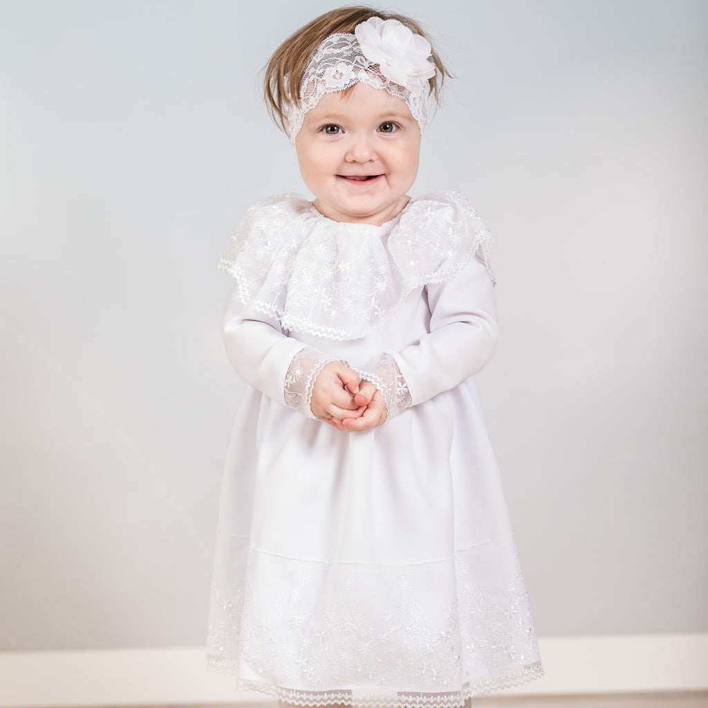 White Christening/Formal Dress, Little Baby Shop Ltd.