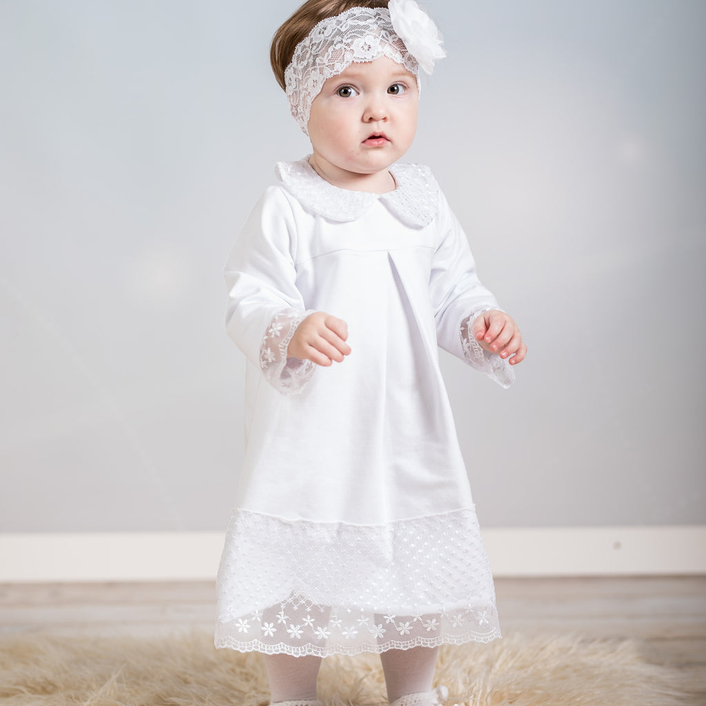White Christening/Formal Dress
