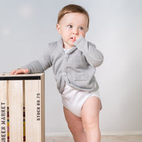 Baby boy cardigan - grey, Little Baby Shop Ltd.