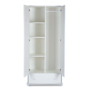 SAFARI Giraffe white wardrobe - Little Baby Shop -